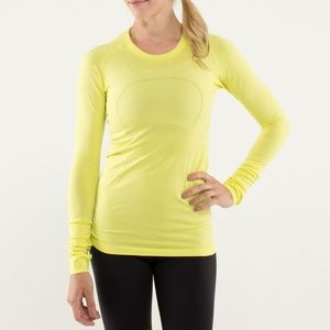 LULULEMON Swiftly Tech Long Sleeve Split Pea {N23}
